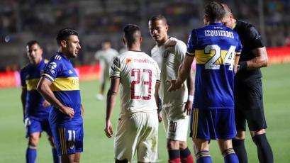 Universitario y Boca Juniors firmarán un convenio interinstitucional gracias al amistoso (FOTO)