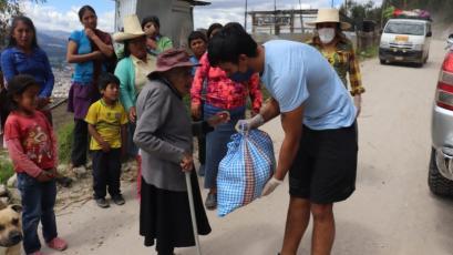 Liga1 Movistar: UTC ayuda a la gente de bajos recursos en Cajamarca