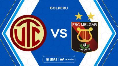 UTC enfrenta a Melgar en Cajamarca por la fecha 3 del Torneo Clausura de la Liga1 Movistar