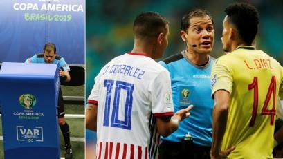 Copa América Brasil 2019: Víctor Hugo Carrillo anuló un gol de Colombia con ayuda del VAR