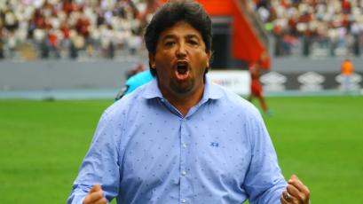 Deportivo Municipal: Así vivió Víctor Rivera el triunfo final sobre Universitario (VIDEO)