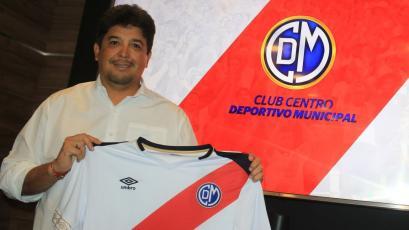 Víctor Rivera tras renovar con Deportivo Municipal: