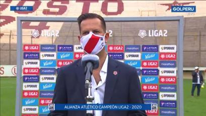 Víctor Villavicencio confirmó cuándo inician la Liga1 Movistar, la Liga2 y la Copa Bicentenario en el 2021 (VIDEO)