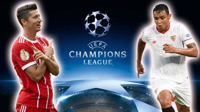 Champions League: Sevilla y Bayern Munich se enfrentan en el Sánchez Pizjuán