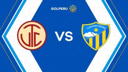 UTC y Sport Rosario abren la décima jornada en Cajabamba