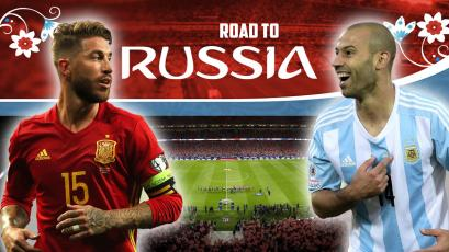 España y Argentina se miden en el Wanda Metropolitano