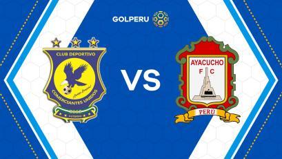 Comerciantes Unidos y Ayacucho FC se enfrentan en duelo directo