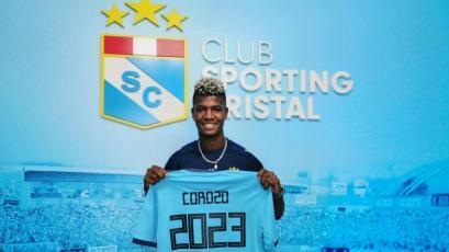 Liga1 Movistar 2020: Washington Corozo es oficialmente nuevo jugador de Sporting Cristal