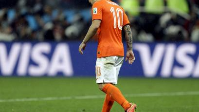 Wesley Sneijder le dice adiós a la selección holandesa