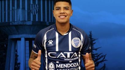 Wilder Cartagena debutó con Godoy Cruz frente a Boca en la Bombonera