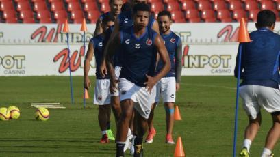 Wilder  Cartagena vio sus primeros minutos de juego con el Veracruz
