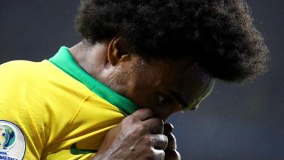 Perú vs Brasil: Willian es baja en la 'Canarinha' para la final de la Copa América 2019