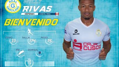 Willy Rivas refuerza a Real Garcilaso