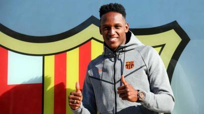 Yerry Mina usará el dorsal que dejó Puyol en el Barcelona