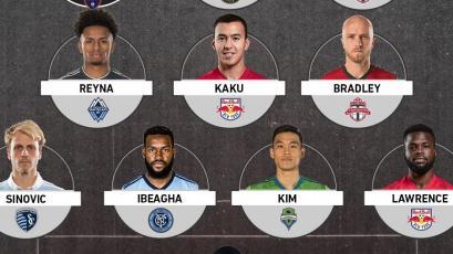 Yordy Reyna fue incluido en el equipo ideal de la fecha en la MLS