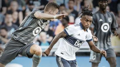 Yordy Reyna fue elegido el mejor jugador en partido del Vancouver Whitecaps por la MLS