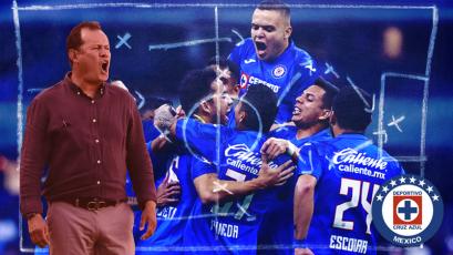 Juan Reynoso: así consiguió su primera victoria con Cruz Azul