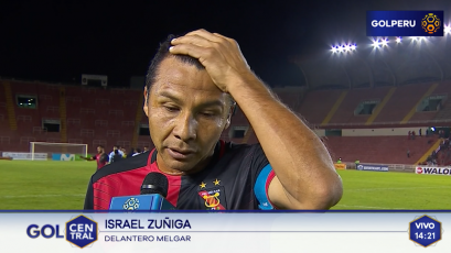 """Ysrael Zúñiga: """"Ellos aprovecharon las dos claras que tuvieron"""""""
