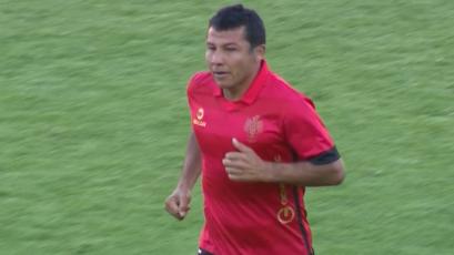 Ysrael Zúñiga marcó su último gol en la Copa Movistar