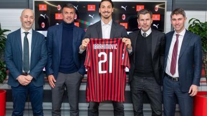 AC Milan: Zlatan Ibrahimovic fue presentado oficialmente y utilizará el dorsal 21 (VIDEO)
